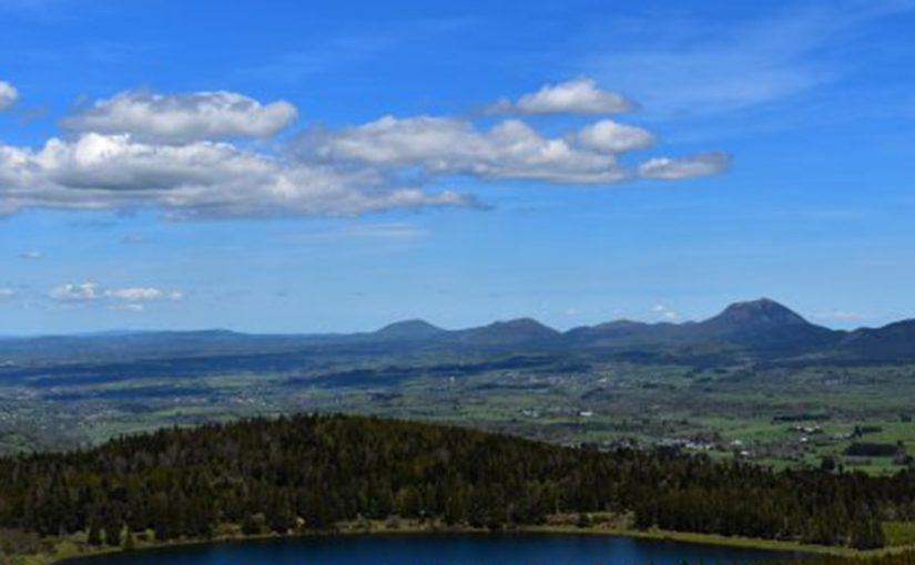 Lac Serviere Vue du Ciel